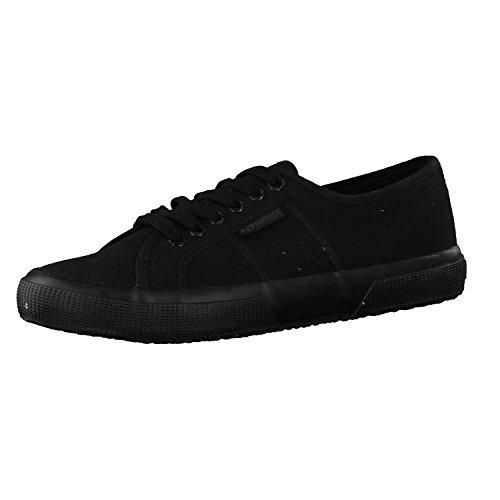 Superga Unisex-Erwachsene Classic Sneaker Low-Top 2750 Cotu Classic, Schwarz (997), 38 EU