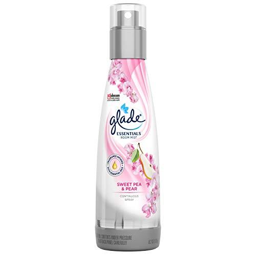 Glade Air Freshener, Room Spray, Sweet Pea & Pear Essentials, 6.2 Oz