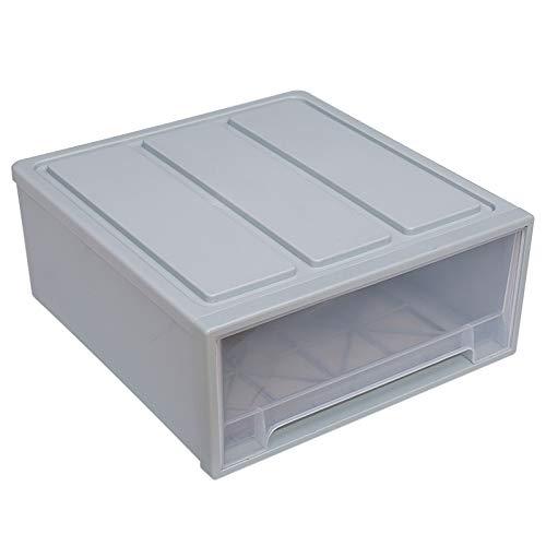 LianHongTouZiGuanLi Cajas Cajón de plástico Organizador de Ropa Caja de Almacenamiento Caja ahorre Espacio Armario Divisor Organizador soldies niño Ropa de Juguete de Almacenamiento Organizador