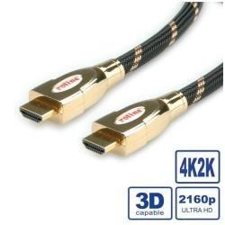 Câble doré UHD ETH Mt 3