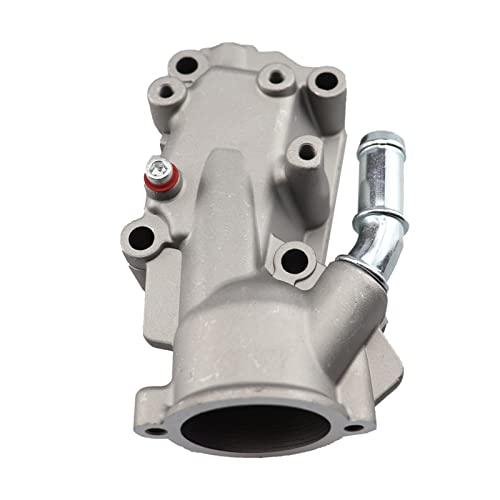 TIANXIANG canjiao Shop 1336 .W3 1336w3 Termostato Carcasa Frida de Agua de refrigerante Fit for Citroen Peugeot C3 I C4 I 206 307 1.4/1.6.6V Aluminio .1336W3
