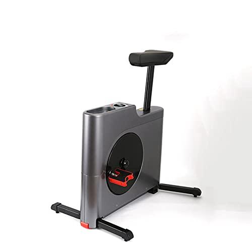 Dispositivo De Pérdida De Peso De Bicicleta Giratoria, Silencioso, Controlado Magnéticamente, para Deportes De Interior, Máquina De Bicicleta Plegable, Bicicleta De Ejercicio Adecuada,Gris