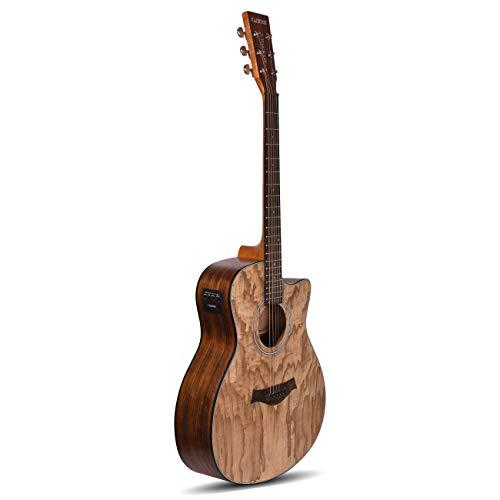 Kadence Acoustica Series Semi Acoustic Ash Wood with Equlizer A-06 (Guitar)