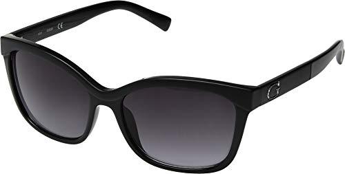 GUESS GF0300 Shiny Black/Gradient Smoke One Size