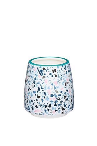 Kitchen Craft Decorative Terrazzo Design Kleiner Blumentopf für den Innenbereich, Mehrfarbig, 11 x 12 cm