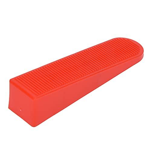 Cuñas de nivelación de azulejos rojos, velocidad de instalación de azulejos 85 x 20 x 19 mm Levelador de baldosas espaciadores