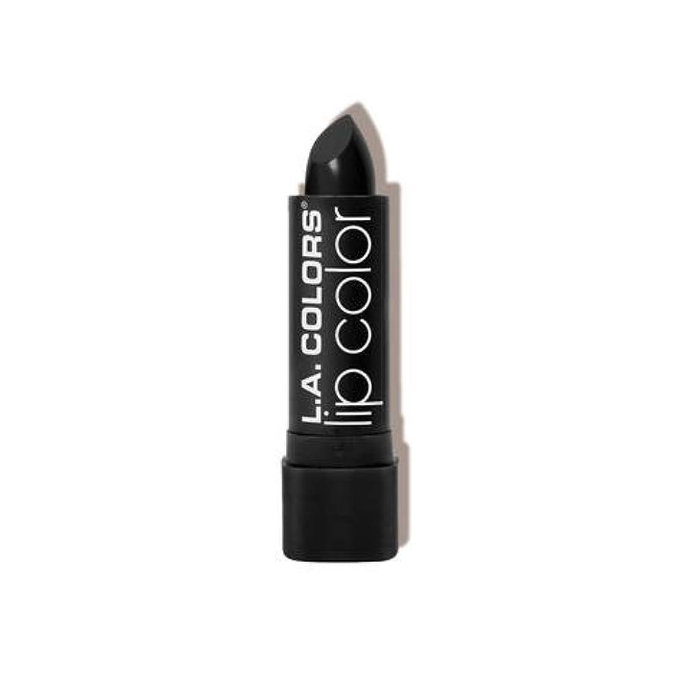 振る舞いお願いしますファンシーL.A. COLORS Moisture Rich Lip Color - Black Velvet (並行輸入品)
