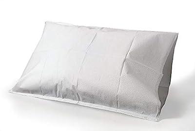 Tidi Tissue Poly Paper Pillow Case, White, 100 Count
