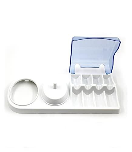 Agnus Soporte de soporte de plástico de la cabeza del cepillo portátil Ajuste para el soporte de cepillo de dientes eléctrico oral-B D12 D20 D17 D18 D29 D34 Pro 1000 600 690 PRO700