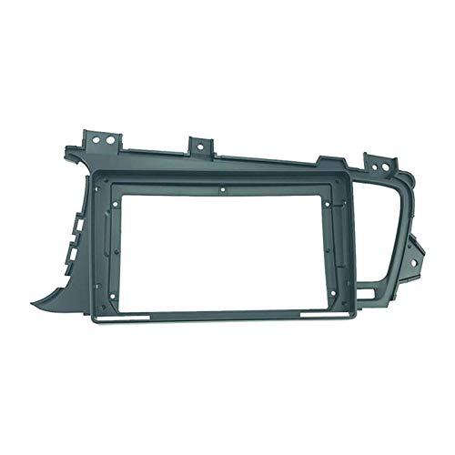 2 Din 9 pulgadas coche radio instalación DVD GPS Mp5 doble DIN plástico fascia panel marco ajuste para KIA K5 Optima 2011-2015 Dash Mount Kit