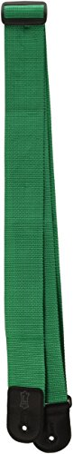 """Levy's Leathers 2"""" Polypropylene Guitar Strap with Polyester Ends and Tri-glide Adjustment; Green (M8POLY-GRN)"""