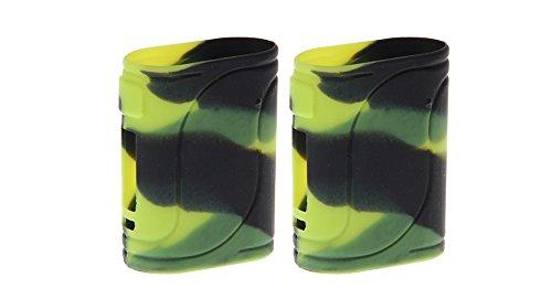Rayee cover protettiva in silicone per mod Eleaf iStick Pico 25 85 W Black Green