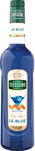 Teisseire Sirop le blue façon curacao bleu qualité professionnelle 70cl