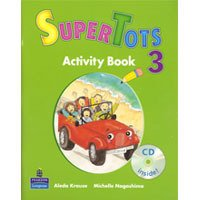 SuperTots Level 3 Activity Book with CD