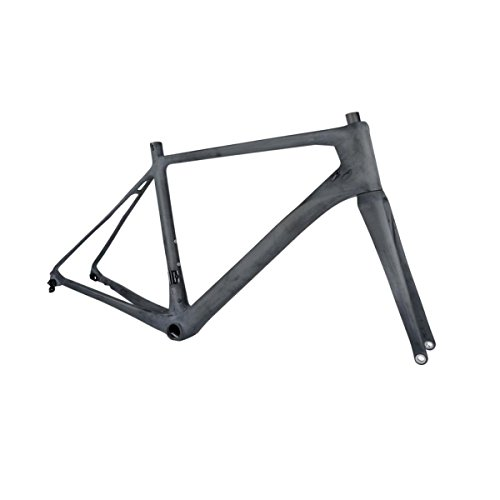 ridewill Bike marco Strada Disco RB02 Cónico carbono Pressfit pf86 Talla 53 (Corsa)/frame Road Disc RB02 Tapered Carbon Pressfit pf86 Size 53 (Race)