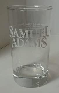 Samuel Adams How to Taste Samuel Adams Lager Glass, Step One Glass