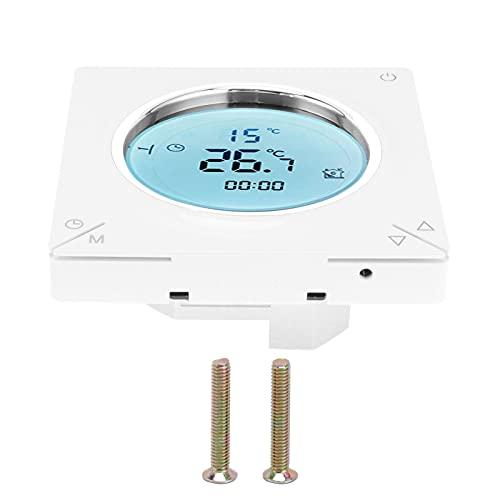 Termostato inteligente, termostato de calefacción eléctrico Chips de confiabilidad antiinterferentes para comedor para sala de estar