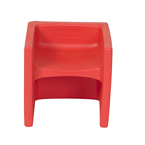 Children s Factory-CF910-008 Cube Chair for Kids  Flexible Seating Classroom Furniture for Daycare/Playroom/Homeschool  Indoor/Outdoor Toddler Chair  Red 1 set