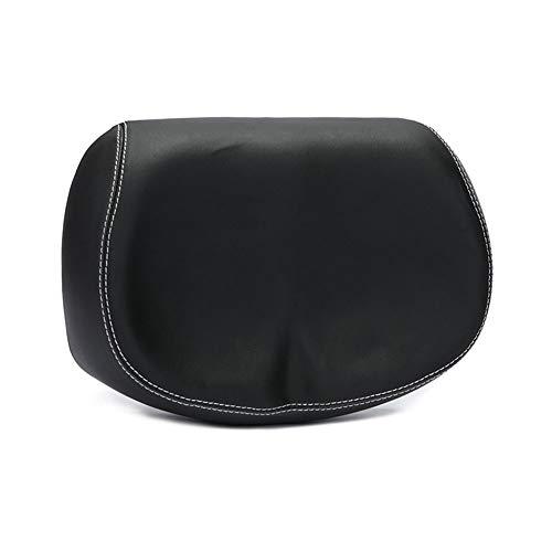 BHAIR5 - Cojín para sillín de bicicleta, fácil de instalar, transpirable, cómodo, ancho, grande, poliuretano elástico, para mujer y hombre, color negro, tamaño Tamaño libre, 32.00 x 10.00 x 8.00centimeters