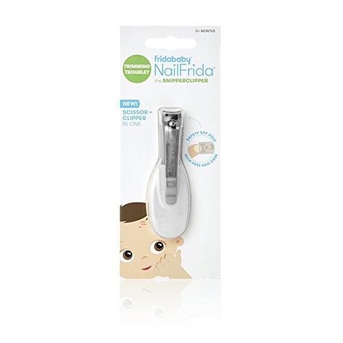 NailFrida The SnipperClipper von Fridababy Der Baby Nagelknipser mit Sicherheitsspion für Neugeborene und älter