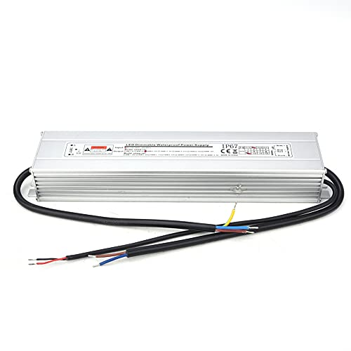 Controlador de fuente de alimentación regulable Transformador 2 en 1 LED IP67 Entrada impermeable AC170~260V (50 / 60Hz) Entrada 12V 100W 8.33A Adaptador para luces LED Tiras de luz Iluminación de o
