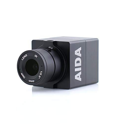 AIDA HD-100A Compact Full HD HDMI POV Camera with TRS Stereo Audio Input, Multi HD Format
