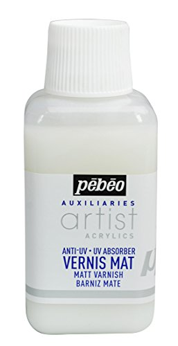 PEBEO 520500 Artist Acrylics - Vernice Lucida a Base Acqua, 250 ml