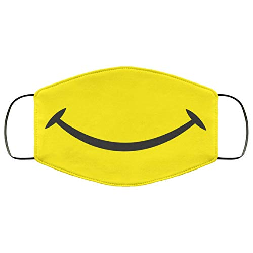 Smile Face Mask Yellow Smile Face Mask Smiling Face Mask