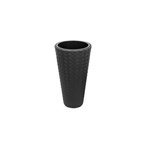 Prosperplast Maceta alta mod. matuba slim 300 medida: 30x55 cm. antracita