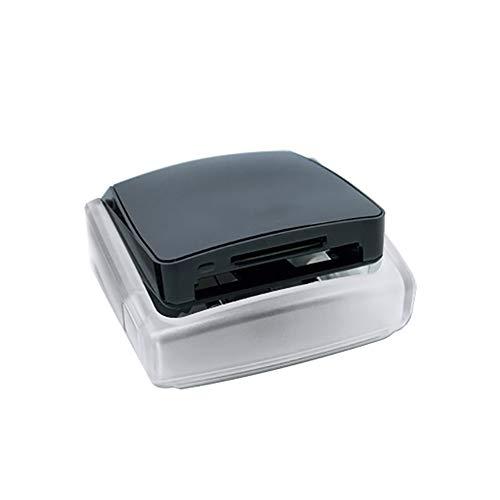 BMG 2 En 1 Lector De Tarjetas, USB 3.0 Dual-Slot Lector De Transmisión De Alta Velocidad Inteligente Recordatorio para La Lectura Simultánea De Datos De La Tarjeta CF Tarjeta SDHC SD SDXD