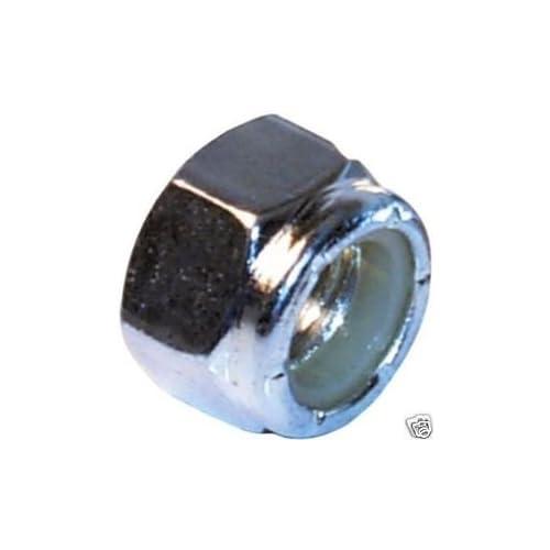 BargainBitz 5//16 Unf Nyloc Nylock Nuts Nut Lock Locknut Nut31 Qty 20