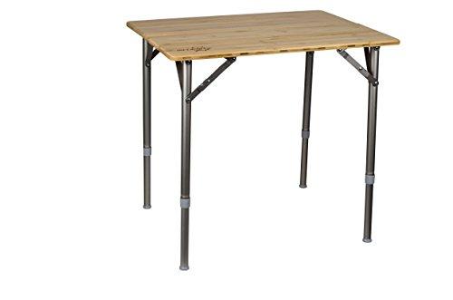 Bo-Camp - Table - Eco - Pliable - Bambou - 65 x 50 cm