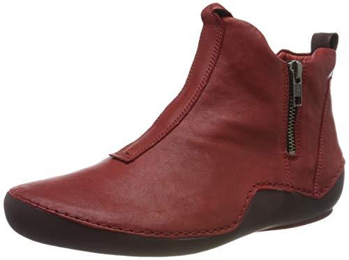 Think! Damen KAPSL_585067 Hohe Sneaker, Rot (Cherry/Kombi 74), 40 EU