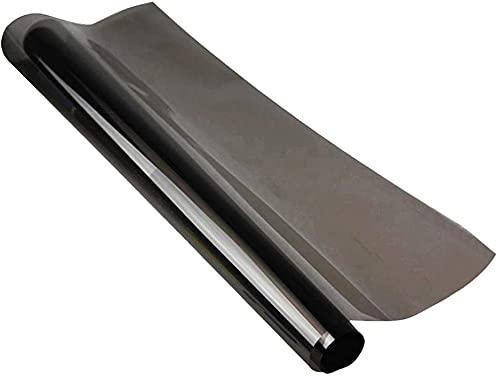 Pumpumly - Pellicola adesiva oscurante per i finestrini dell'auto, 50 x 600 cm, protezione dai raggi UV