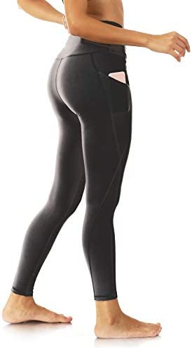 Leggings for Women Butt Lift High Waisted Non See Through Yoga Workout Leggings with Pockets product image