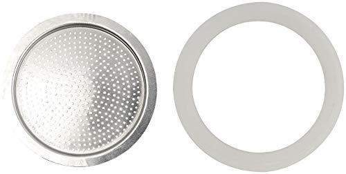 Cucina di Modena Zubehör zu Dichtungsringe: Ersatz-Aluminium-Sieb für 9-Tassen-Espressokocher (Ersatz Dichtungsringe)