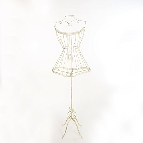 Antyki24 Schaufensterfigur Mannequin Schneiderpuppe Puppe Schaufensterpuppe Chic Metall
