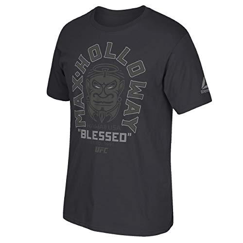 Reebok Men's Official UFC Fighters Crew Neck Short Sleeve T-Shirt