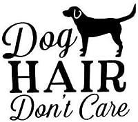 犬髪のドントケアおかしいファッションビニールバンパー車のステッカーブラック/ Silver13.1CM * 14.1CM2pcs、ブラック-13.1CM * 14.1CM Rebirtha (Color : Black, Size : 13.1CM*14.1CM)