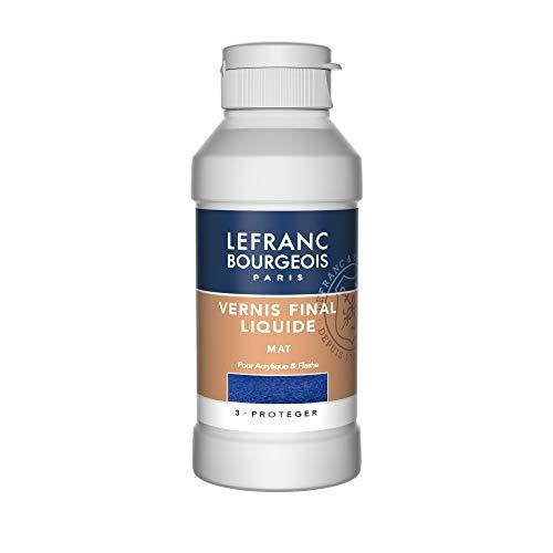 Lefranc Bourgeois Vernice Finale Liquido Opaco 250 ml