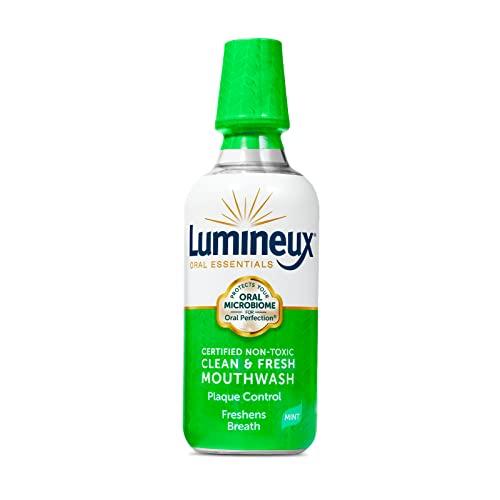 Lumineux Oral Essentials Mouthwash - Clean & Fresh Breath -...