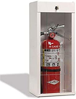 Amerex B500, 5lb ABC Dry Chemical Class A B C Fire Extinguisher With Surface Mount Cabinet (B500 w/ 916 Surface Mount Cabi...