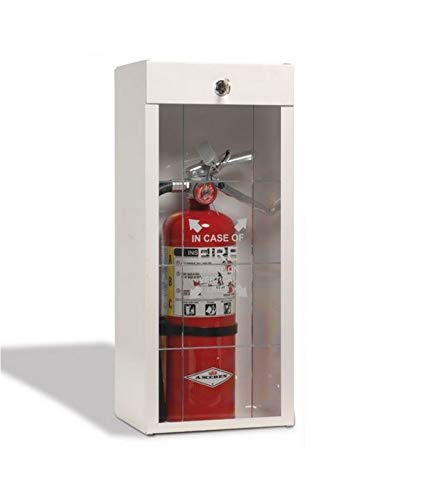 Amerex B500, 5lb ABC Dry Chemical Class A B C Fire Extinguisher With Surface Mount Cabinet (B500 w/ 916 Surface Mount Cabinet)