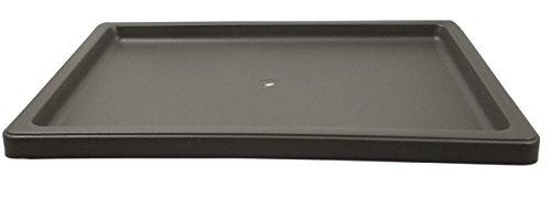 Plastic Rectangle Bonsai Drip & Humidity Tray - Brown (1, L-138, 11' x 7.75')