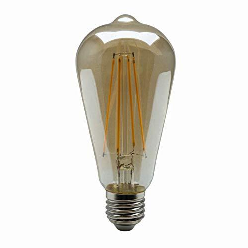 HEITRONIC LED Leuchtmittel E27 Vintage Filament ST64 4W Retro-Look