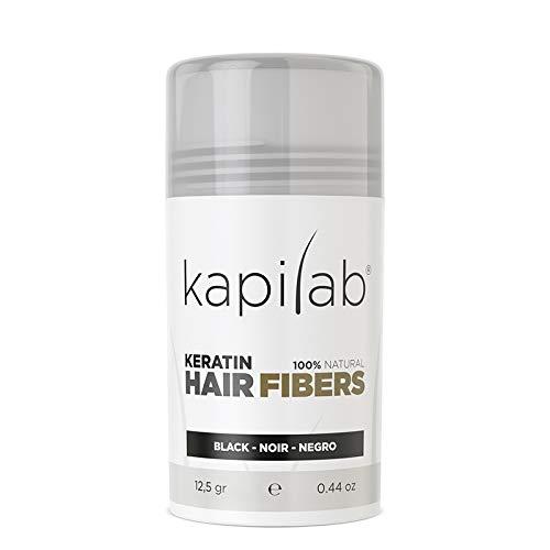 Kapilab Fibras Capilares - Disimula la falta de Cabello al Instante - Microfibras en Polvo de...