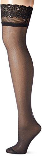 Dim Up Nudesens Sopaq - Bas Autofixants - 25 Den - Femme - Noir - FR: 1 (Taille Fabricant: 1)