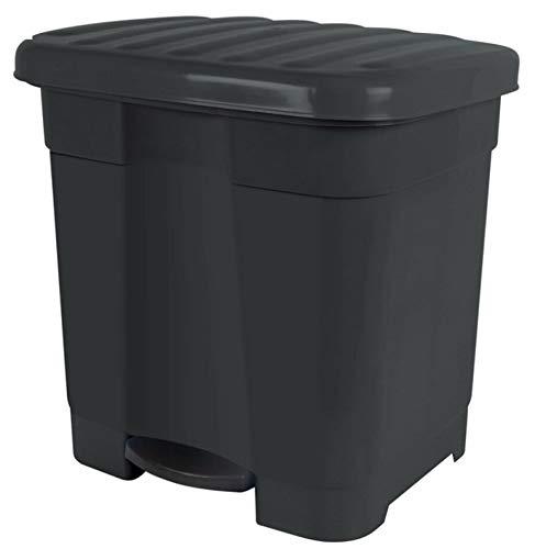 TIENDA EURASIA® Cubo de Basura con Pedal para Cocina - 46L