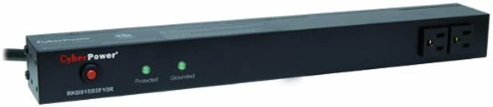 CyberPower RKBS15S2F10R 15A 12-Outlet 1U RM Rackbar Surge Supressor