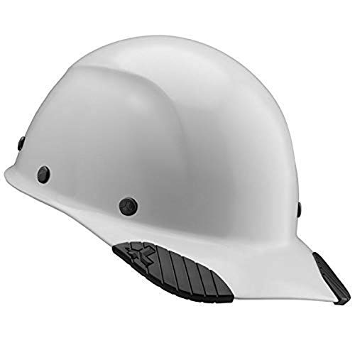LIFT Safety DAX Cap Style Safety Hard Hat, New & Improved 6 Pt. Adjustable Ratchet Suspension, Personal Protective Equipment/PPE for Construction, Home Improvement, Diy Projects (White) (HDFC-17WG)
